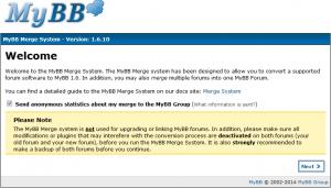 MyBBへphpBBからインポート(1)