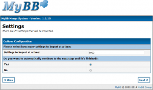 MyBBへphpBBからインポート(7)